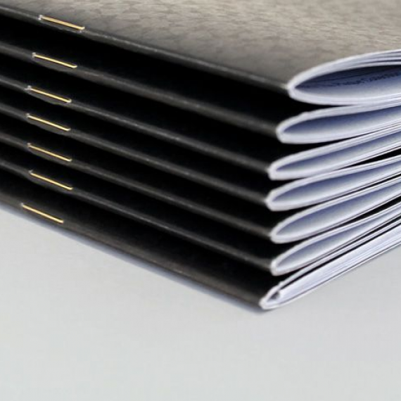 Saddle-stitched-booklet